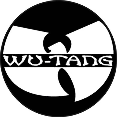 Wu-Tang Clan Logo Button
