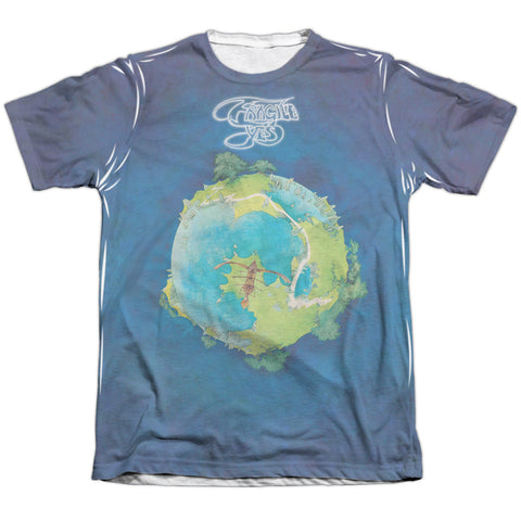 Yes Special Order Fragile Men's Regular Fit 65% Poly 35% Cotton Short-Sleeve T-Shirt