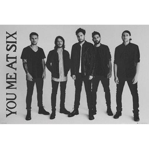 You Me At Six Band Wall Poster