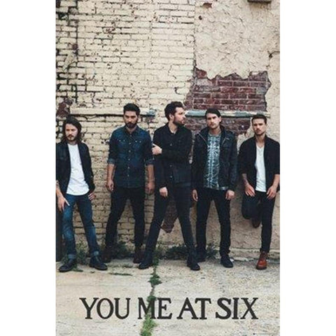You Me At Six Wall Wall Poster