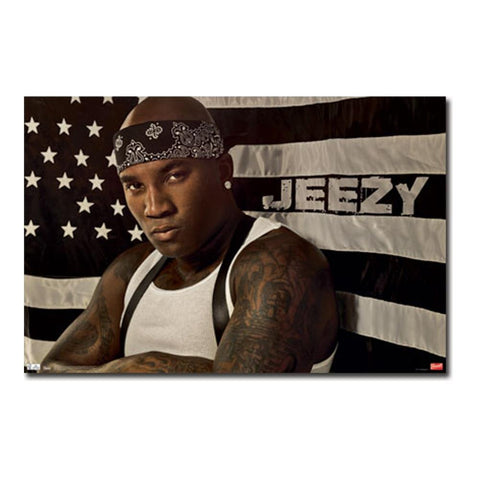 Young Jeezy Flag Poster