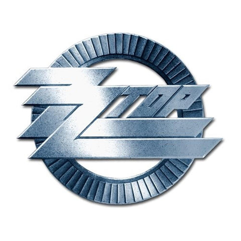 ZZ Top Circle Logo Button