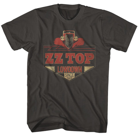 ZZ Top Special Order Lowdown Adult S/S T-Shirt