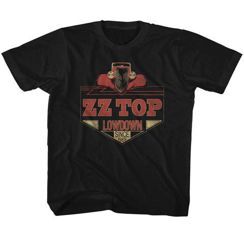 ZZ Top Special Order Lowdown Toddler S/S T-Shirt