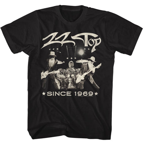 ZZ Top Special Order Since 1969 Adult S/S T-Shirt