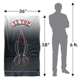 ZZ Top Decal Logo Silky Touch Blanket