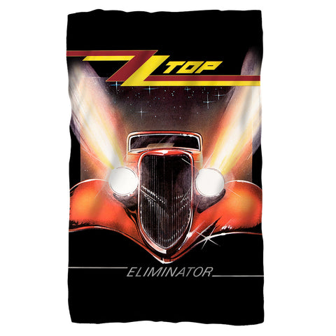 ZZ Top Special Order Eliminator Cover 100% Polyester Fleece Blanket