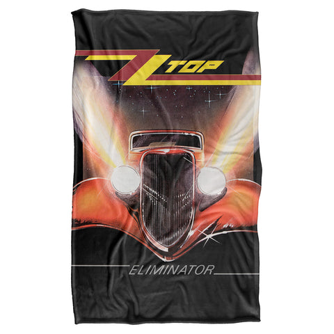 ZZ Top Eliminator Cover Silky Touch Blanket