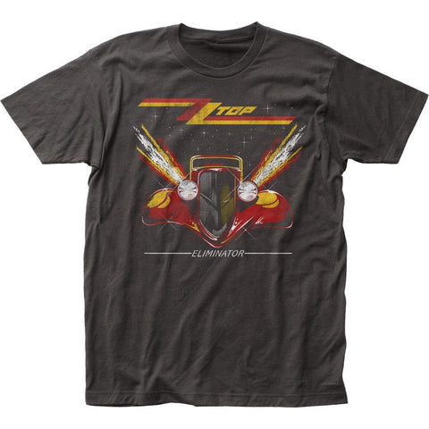 ZZ Top Eliminator Men's Fitted Jersey T-Shirt