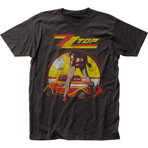 ZZ Top Legs fitted jersey tee