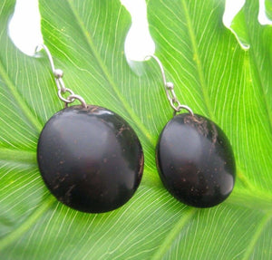 Rio Coyol Earrings - Naturaleza Organic Jewelry & Wood Rings