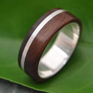 Solsticio Nacascolo Wood Ring - Naturaleza Organic Jewelry & Wood Rings