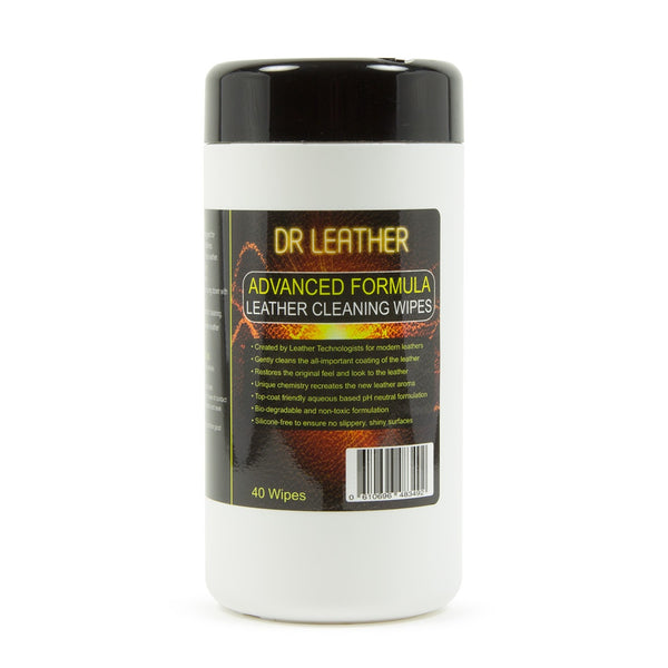 Dr Leather Leather Cleaning Wipes - HD Car Care