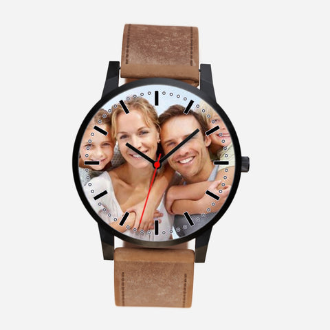 Custom Photo Family Watch Makes A Perfect Unique Gift