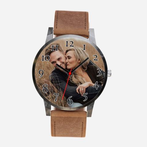 Custom Happy Couple Photo Watch Makes A Perfect Unique Gift