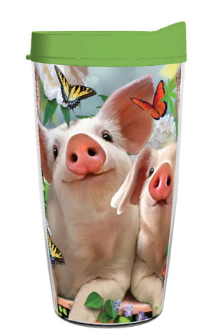 Pig Lover In The Pink 16OZ  Tumbler