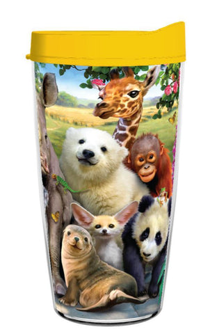 Funny Wildlife Class Photo Wrap 16OZ Tumbler
