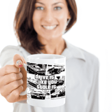 "Gift for Car Fans ""Drive it Like You Stole It"" Fun Novelty Coffee Mug Gift"