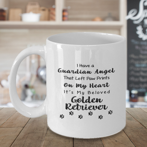 Golden Retriever Memorial Gift,  I Have a Guardian Angel ...Golden Retriever, Pet Remembrance Gift