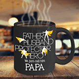 d29fd8cb2 Best Birthday Gift for Dad Father Husband Protector Hero ... Father's Day  Coffee Mug
