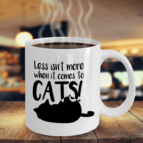 Image of Crazy Cat Lady Gifts Less isn't More When it Comes to Cats Cat Enthusiast Gifts