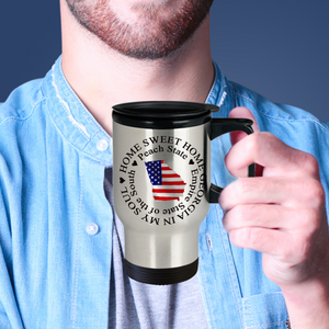 Home Sweet Home Georgia In My Soul USA Gifts for Georgia Patriots Travel Mug