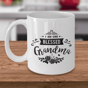 "Gift for Grandma, ""I Am One Blessed Grandma"" Gift for Nan, Nana, Grandma"