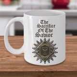 Christian Faith Gifts for Men Women The Sacrifice of the Savior Bible Gifts Coffee Mug