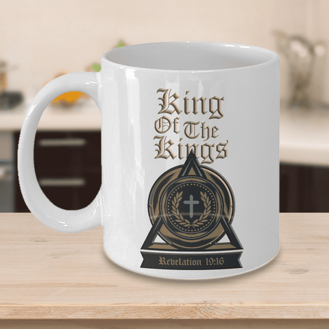 Image of Christian Faith Gifts I'm the King of the Kings Revelation 19:16 Bible Scripture Verse Mug Gift