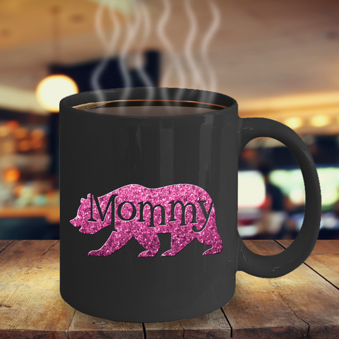 Image of Gift for Mom, Mommy Bear, Cute Bear Mug Gift for Mother