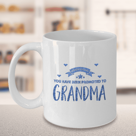 Image of New Grandma Gift Congratulations You have Been Promoted to Grandma Gift  Grandma