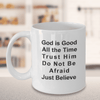 Christian Faith Gifts God is Good All The Time Bible Scripture Verse Coffee Mug Gift