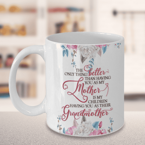 Image of Mom gift, The Only Thing Better.. Grandmother, Gift for Mom V2
