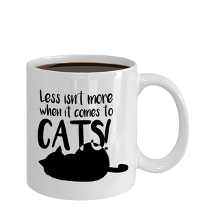 Crazy Cat Lady Gifts Less isn't More When it Comes to Cats Cat Enthusiast Gifts