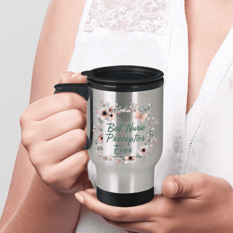 Image of Nurse Preceptor Travel Mug Thank You Gifts Coffee Cup for Women  Nursing Preceptors