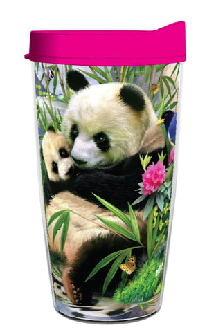 Adorable Panda Misty Morning 16oz Tumbler