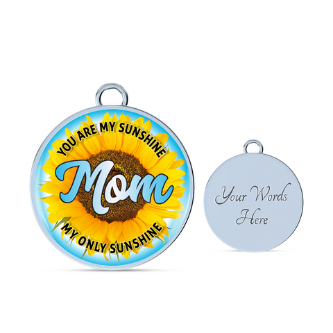 Best Gifts for Mothers Mom You Are My Sunshine My Only Sunshine Necklace Gift for Mom