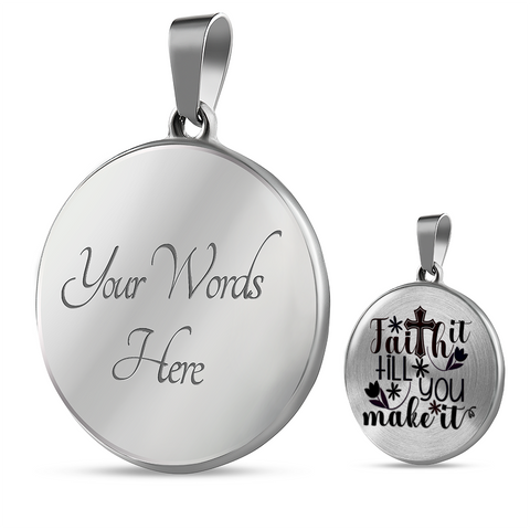Image of Faith Gift, Faith It Till You Make It, Inspirational Gift