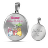 "Funny Cat Lady Gift, ""Home is Where My Cats Are"" Crazy Cat Lady Gift She Will Adore"