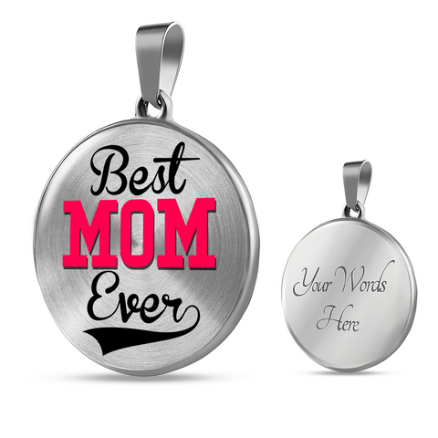 Best Gift for Mom Best Mom Ever Mother's Day Necklace Gift for Mom