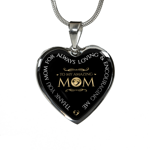 Best Gift for Mom, To My Amazing Mom Thank You Mom... Mother's day Gift Birthday Gift for Mom