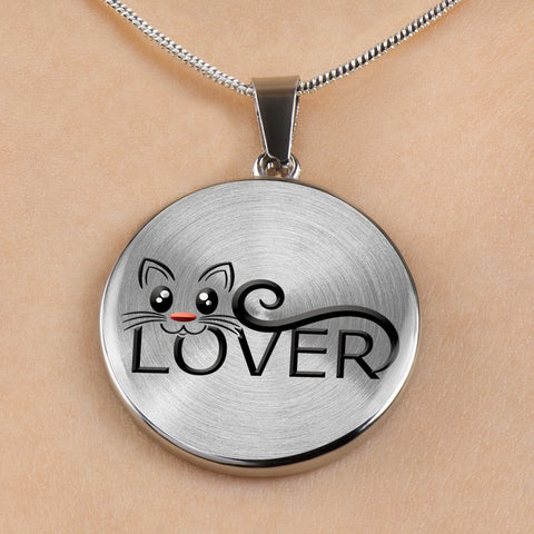 Cat Lover Gift necklace and Bracelet for Cat Ladies and guys