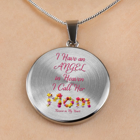 Memorial Gift, Guardian Angel In Heaven Mom Remembrance Gift