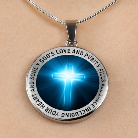 Image of Faith Gift, God's Love and Purity Fills All Space Including Your Heart  and Soul