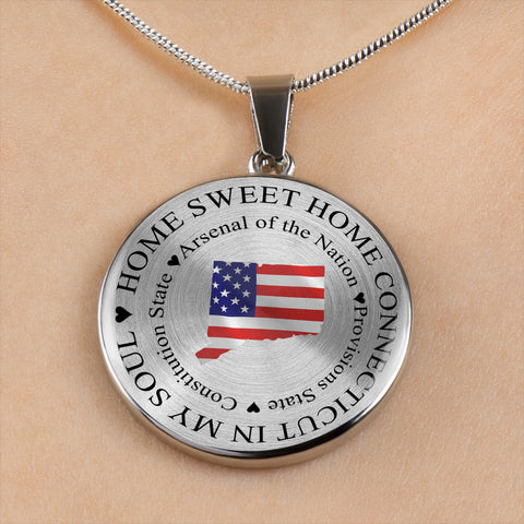Home Sweet Home Connecticut In My Soul USA Gifts for Connecticut Lovers