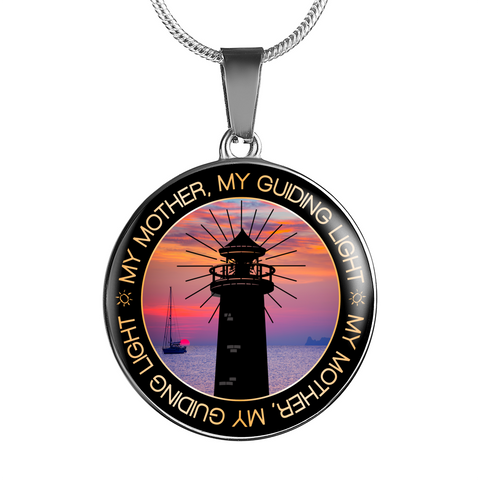 Image of Best Gift for Mom Mother My Guiding Light Birthday gift for Mom, Mother's Day Gift