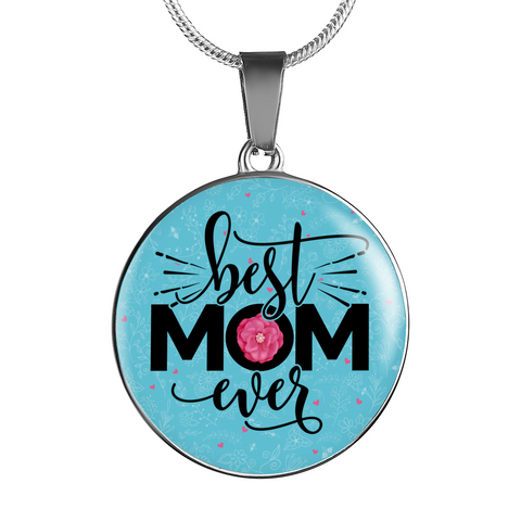 Best Mom Ever Pendant or Bangle Bracelet Gift for Mother's Day Birthday Any Occasion Gift for Mom