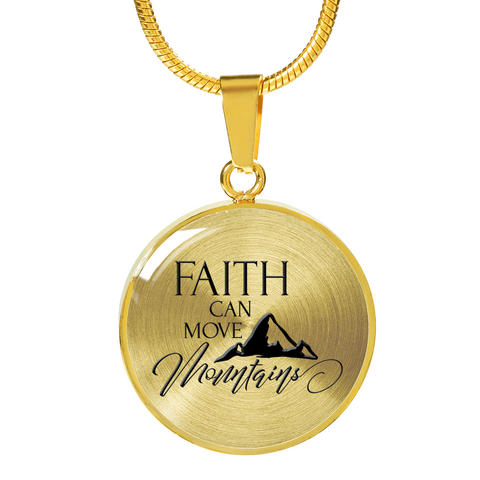 "Faith Gift, ""Faith Can Move Mountains"" Bible Verse Gifts"