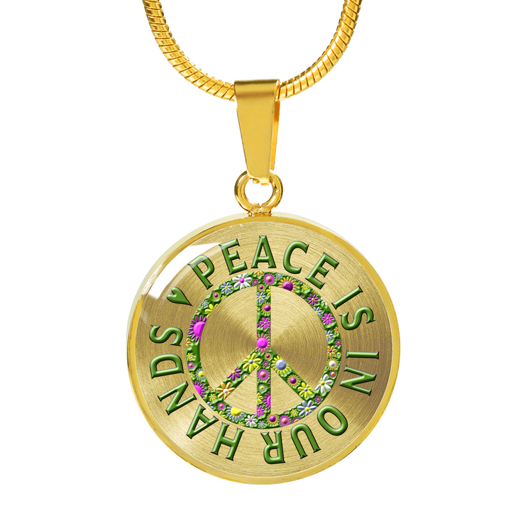 Peace is in our hands world peace gift flower power peace gift peace is in our hands world peace gift flower power peace gift aloadofball Image collections
