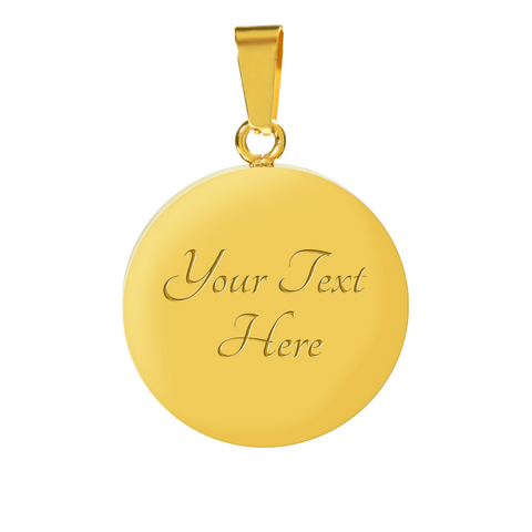 Happy Moments Praise God Difficult Moments Seek God ..Faith Pendant Necklace Gift